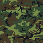 motif camouflage militaire
